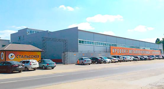 Офис и цех по производству профлиста и металлочерепицы