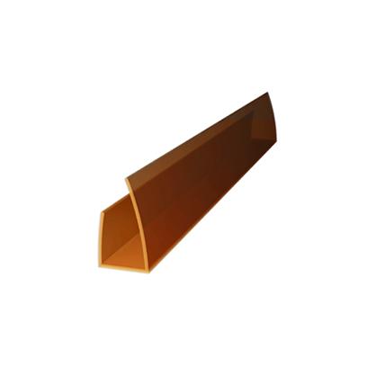 Профиль поликарбонатный ROYALPLAST UP торцовый